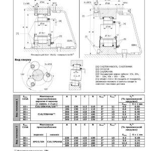 Сопроводительная документация к датчику HBM C16A