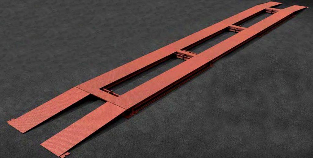 Колейные бесфундаментные автомобильные весы модификации ВАТК
